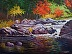 October colours, Mill Falls by Brian Muszkie