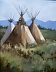Taos Teepees by Susan Aamot