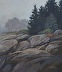 Misty Shore, Boothbay by Gwen Nagel