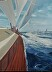 Racing Yacht off ACK 30x40 by Michael Lenihan