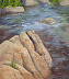 Canyon Creek (framed) by Melody Sears