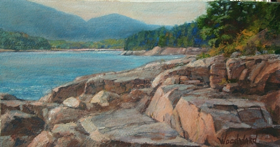 Woodward simons work zoom otter point acadia for Best way to sell paintings