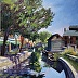 Carroll Creek Shadows by Ann Schaefer
