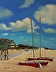 Boats on the Beach by Mary Gregory