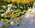 Water Lilies by Ginny Takacs