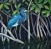Tricolored Heron in the Everglades by Nancy Hannigan