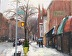 Snowy Street in Cobble Hill, Brooklyn by Lois Fisher
