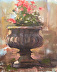 Urn with Flowers by Kim Gale