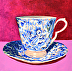 Cup and Saucer I by Barbara Cooledge