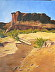 """Canyon de Chelley """"The bridge washes out every year"""" by Honor Haase"""