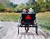 Amish Joyride (giclee print dealer wholesale) by Chuck Clevenger