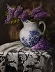 LILACS AND LACE by Sandra Desrosiers