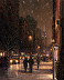 Flurries on Fifth by Tony DAmico