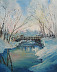 A Snowy Day at Granite Dells by Jeanne de Campos-Rousseau