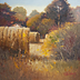 Late Summer Bales by Kathryn Weisberg