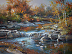 Autumn at Osage Hills State Park 30 x 40 $11,500 framed by Linda Tuma Robertson