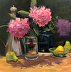 Pretty in Pink_20x20 Oil_Vandeventer, Colleen by Colleen Vandeventer