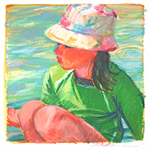 2be8617c46a4c The Bucket Hat by Jodie Rippy Caran D  ache ~ 12