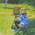 Plein Air Painter by Pamela Giarratana