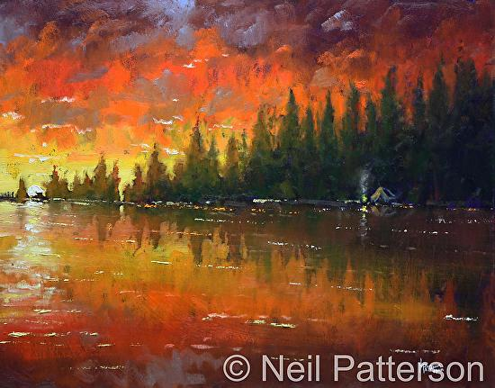 neil patterson This is a short preview of the 3rd of neil patterson's videos demonstrating his alla-prima, impressionistic oil painting style his quick, deft brush strokes.