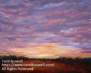 An example of fine art by Carol Buswell