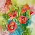Poppies 8 by Nora Larimer and Rock Run Gallery