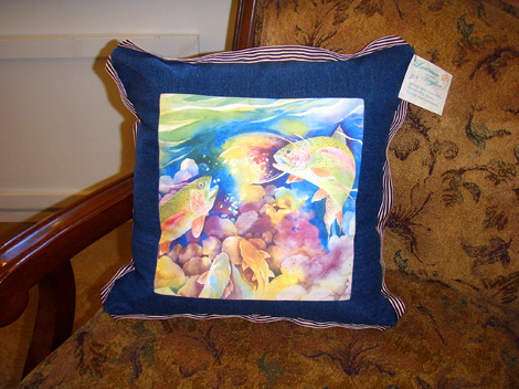 flax and trout eye il listing lavender pillow organic fish