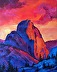 Half Dome Sunset by Mary Purdy Gmuender