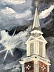 The Cross stands Tall by Randall Parmer