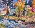 Metolius River in Autumn by Patricia Young