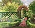 Deepwood Garden Path by Patricia Young