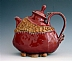 red teapot by Damian Radice