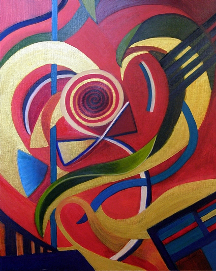 Love Abstracted - Oil