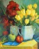 Still life  Yellow Tuilips by Patricia Kness