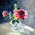 Still Life With Roses by Karine Andriasyan