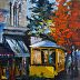 Old Trolley by Janet Olson