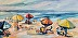 Late Day Beach by Sandy Taylor