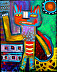 """""""Upright Cat"""" by Tracey Ann Finley"""