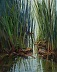 Cattail Conversation by Michele Combs