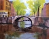 Amsterdam Canal by Steve Mabley