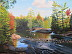 Rob Roehrig - Adirondack Splendor - oil by Robert Roehrig