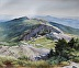 The Mount Mansfield, Vermont Ridgeline by Susan Bull Riley