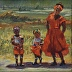 Soweto, Johannesburg  - Waiting For The Bus by Shirley Lavine
