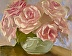 Garden Pink Roses by Ena  Raquer