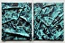 WAVES TO WAVES ( DIPTYCH) by Jose Cabrera