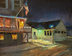 Good Night Lubec Library by Shawn COSTELLO