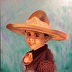 Little Mexican Cowboy by Glenda Seal