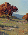 Hill Country Fall Scene 16x13 2021 by Noe Perez